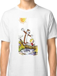 Calvin and Hobbes River Classic T-Shirt