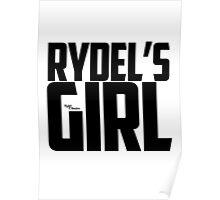 Rydel's Girl - Black Poster