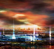 Touch by the Sunset by Stefano Popovski