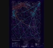 USGS TOPO Map New Jersey NJ Woodbury 255032 1949 25000 Inverted Unisex T-Shirt