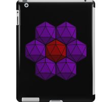 D20 Flower iPad Case/Skin