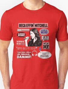 Beca Mitchell - Pitch Perfect - Anna Kendrick - Bechloe T-Shirt