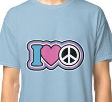 I Love Peace Classic T-Shirt