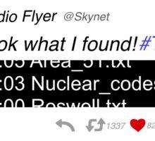 Skynet - Tabula Rasa Sticker