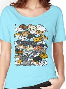 Neko Atsume Sleepy Kitties Women's Relaxed Fit T-Shirt