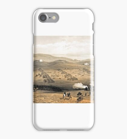 William Simpson - Charge of the light cavalry brigade, 25th Oct. , under Major General the Earl of Cardigan iPhone Case/Skin