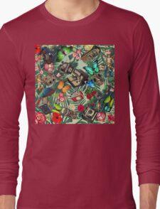 tropical vintage  Long Sleeve T-Shirt