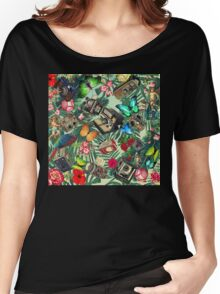 tropical vintage  Women's Relaxed Fit T-Shirt