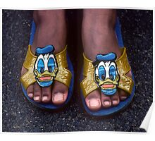 My Donald Duck Sandals Poster