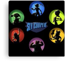sly cooper full thieft Canvas Print