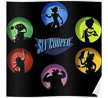 sly cooper full thieft Poster