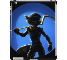 sly cooper full black iPad Case/Skin