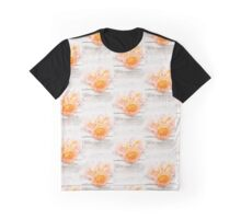 Peach Roses Vintage Graphic T-Shirt