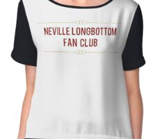 Neville Longbottom Fan Club Chiffon Top