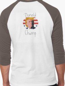 Donald Chump Men's Baseball ¾ T-Shirt