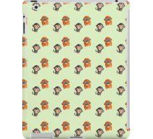 Monkey Pattern iPad Case/Skin