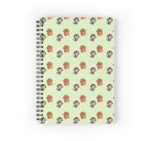 Monkey Pattern Spiral Notebook