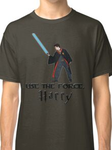 Jedi Harry Potter with Light Saber Classic T-Shirt