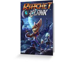 ratchet clank 2016 ori Greeting Card