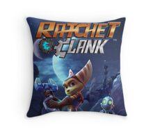 ratchet clank 2016 ori Throw Pillow