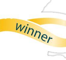 The Winner Sticker