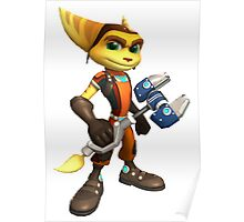 ratchet clank heroes Poster