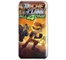 ratchet clank all 4 one iPhone Case/Skin