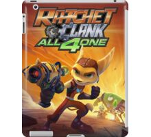 ratchet clank all 4 one iPad Case/Skin