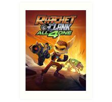 ratchet clank all 4 one Art Print