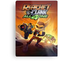 ratchet clank all 4 one Metal Print