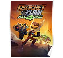 ratchet clank all 4 one Poster