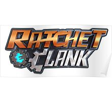 ratchet clank logo games Poster