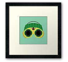 Night Vision! Framed Print