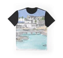 old castle with boats Graphic T-Shirt