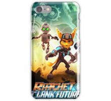 ratchet clank in the time iPhone Case/Skin