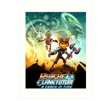 ratchet clank in the time Art Print
