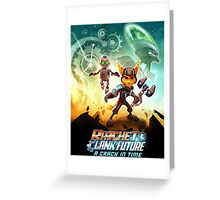 ratchet clank in the time Greeting Card