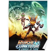 ratchet clank in the time Poster