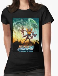 ratchet clank in the time Womens Fitted T-Shirt