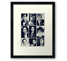sherlock cast Framed Print