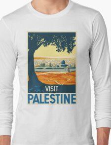 Vintage Travel Poster - Palestine Long Sleeve T-Shirt