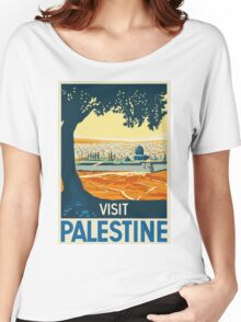 Vintage Travel Poster - Palestine Women's Relaxed Fit T-Shirt