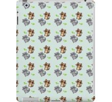 Raccoon Pattern iPad Case/Skin