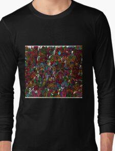 Psychedelic Cartoon Long Sleeve T-Shirt