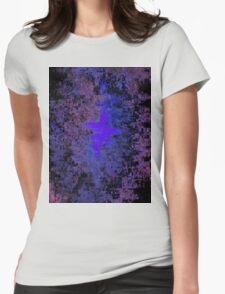 Lost Memories In The Commotion Womens Fitted T-Shirt