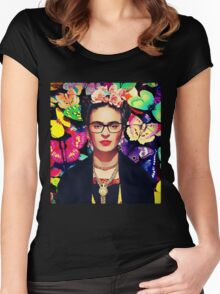 Beauty is abstract Women's Fitted Scoop T-Shirt
