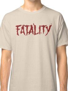 Mortal kombat Fatality Classic T-Shirt