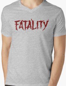 Mortal kombat Fatality Mens V-Neck T-Shirt