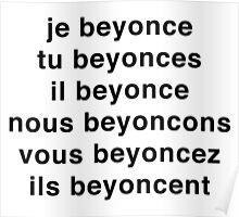 Je Beyoncé... Poster