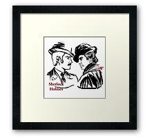 Sherlock Holmes and John Watson Framed Print